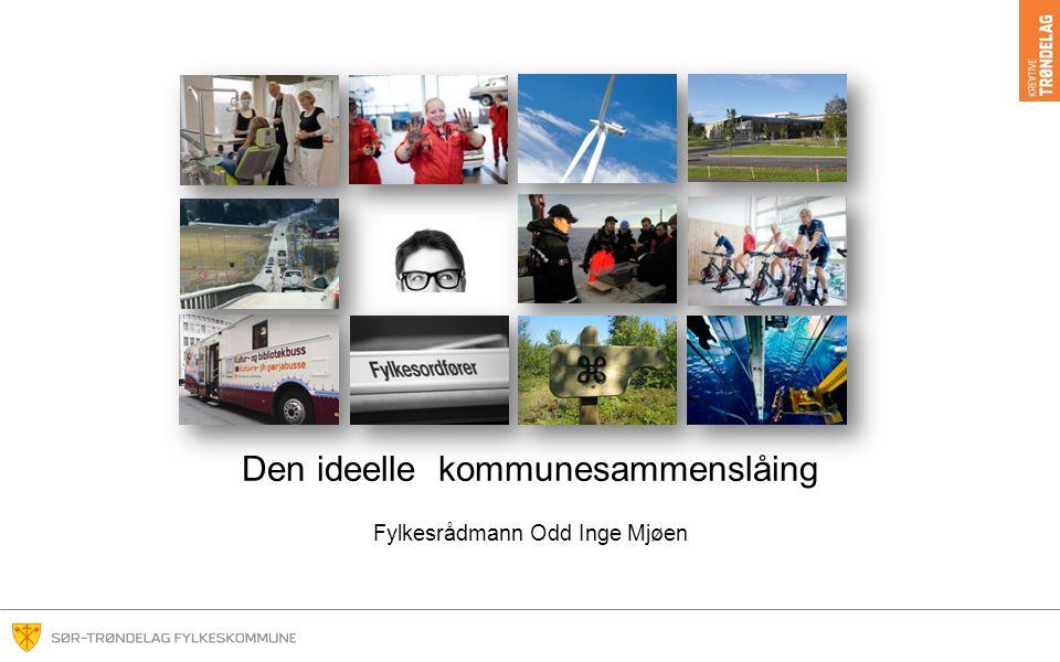 Den ideelle kommunesammenslåing Fylkesrådmann Odd Inge Mjøen