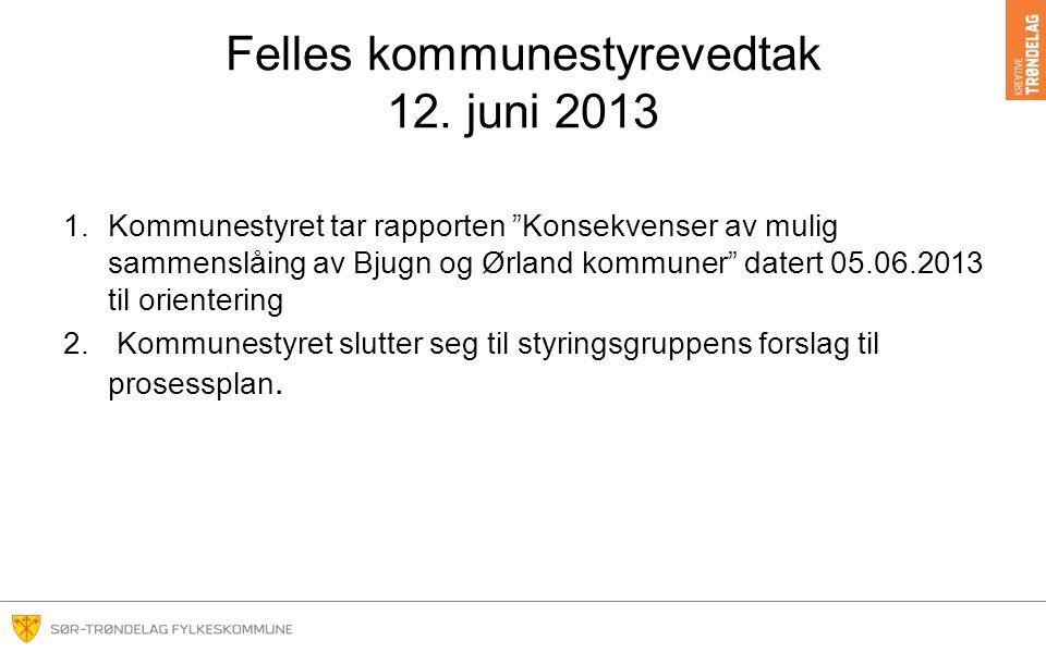 Felles kommunestyrevedtak 12.