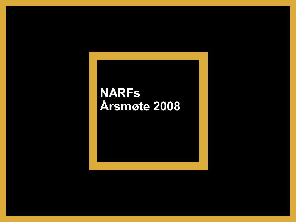 NARFs Årsmøte 2008