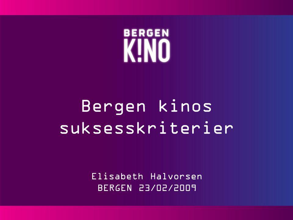 Hva gjør Bergen kino nå for å sikre videre suksess.
