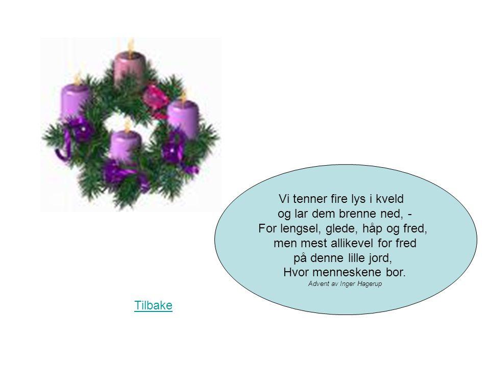 Nå er det bare 1 dag igjen til jul Tilbake