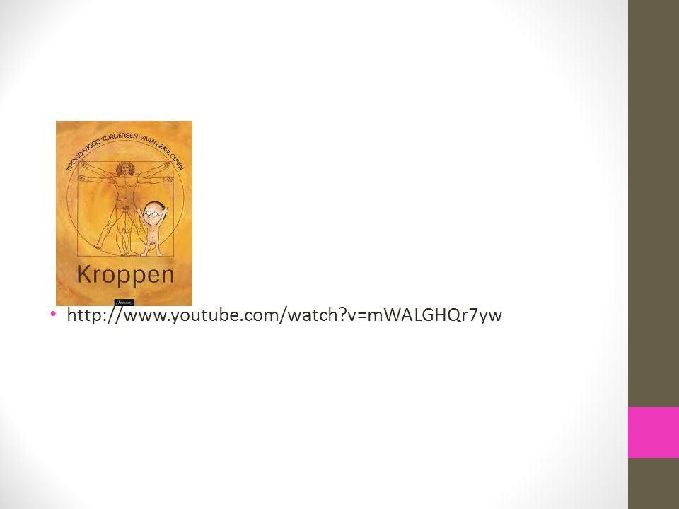 • http://www.youtube.com/watch?v=mWALGHQr7yw