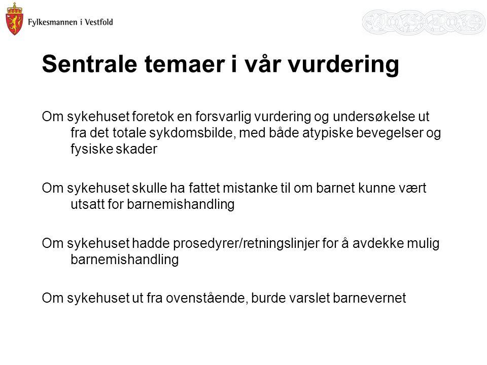 Nye barnevernstiltak i Vestfold etter hvem som tok opp saken, 2007-2010