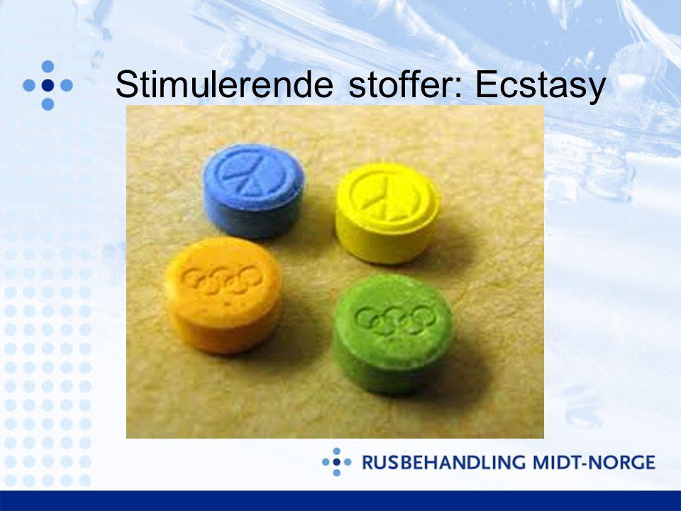 Stimulerende stoffer: Ecstasy