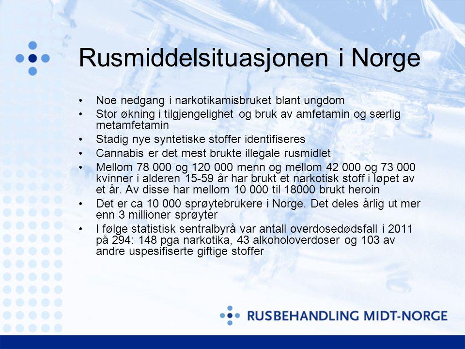 Nye syntetiske stoffer •Det som øker mest i Europa •Internettdop….