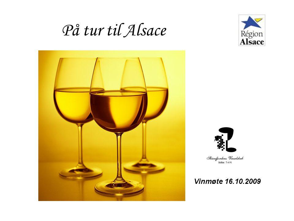 På tur til Alsace Vinmøte 16.10.2009