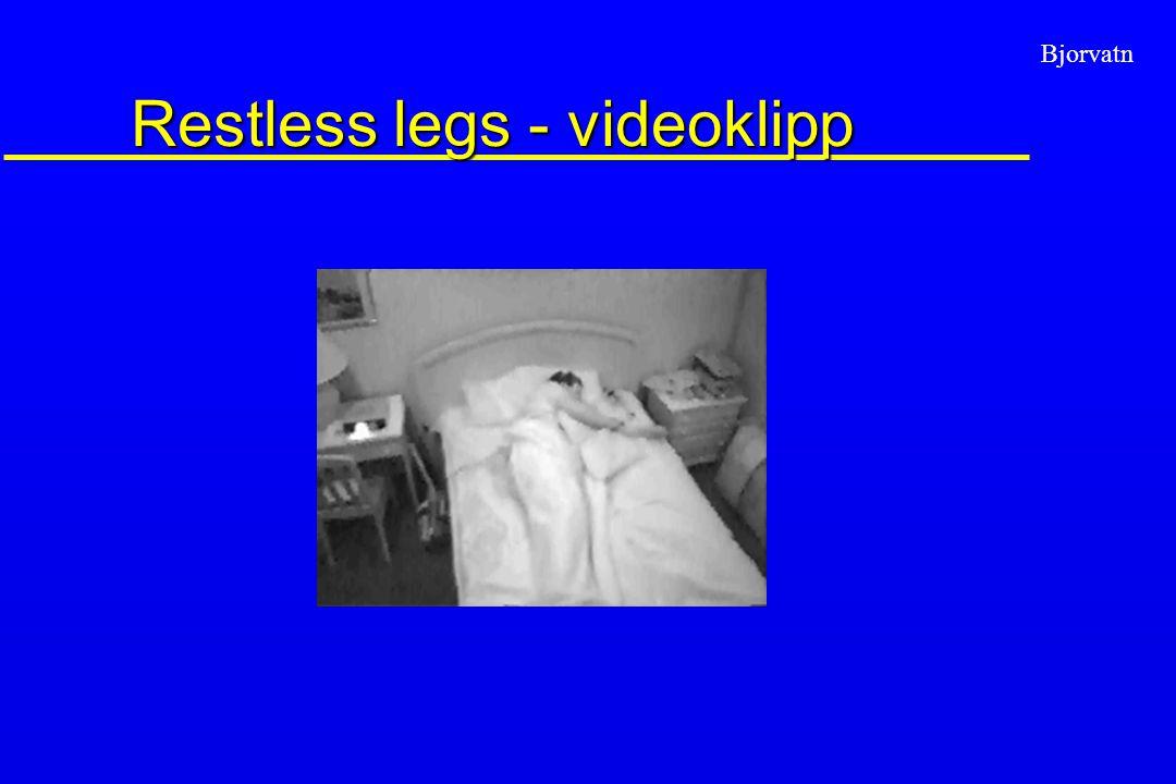Bjorvatn Restless legs - videoklipp