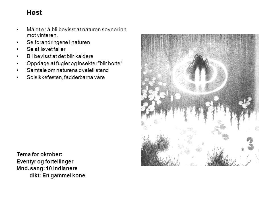  OKTOBER 2006 •24.10: Solsikkefesten •Foreldre- samtaler i uke 44 •Husk å skrive dere opp på foreldre- samtaler Egne notater: MandagTirsdagOnsdagTorsdagFredagLørdagSøndag 1 23456 7 8 9101112131415 16171819202122 23242526272829 Vintertid 3031
