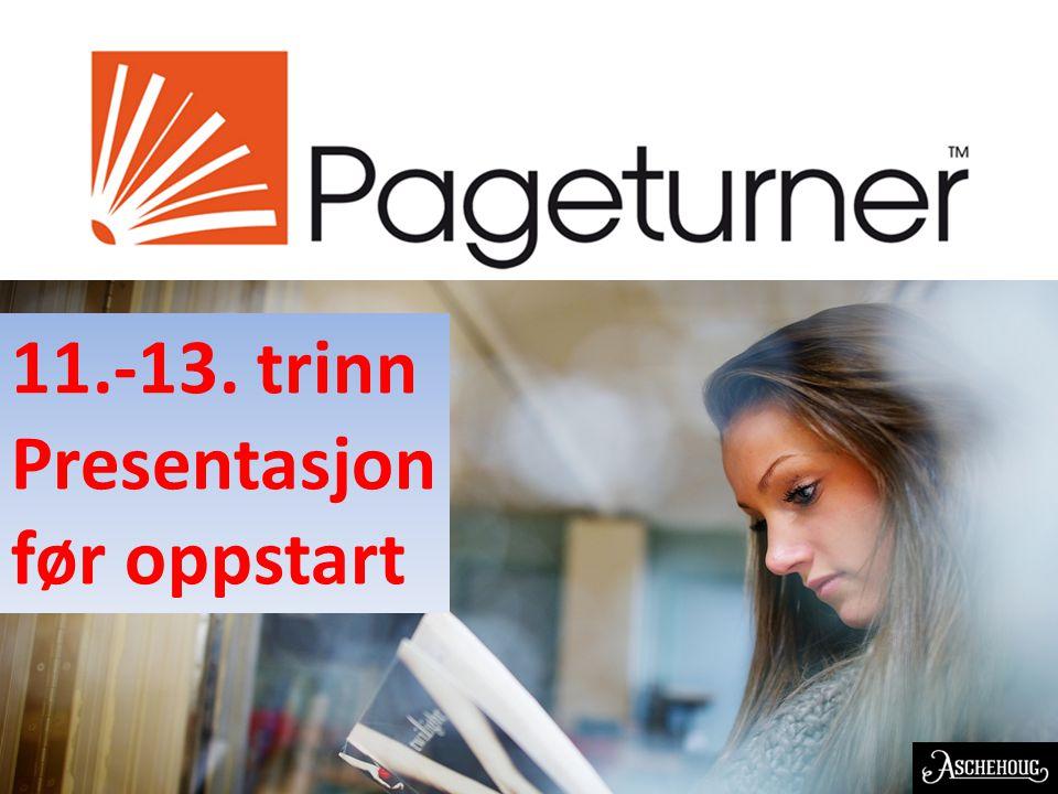 EN NORSK OPPFINNELSE 11.-13. trinn Presentasjon før oppstart