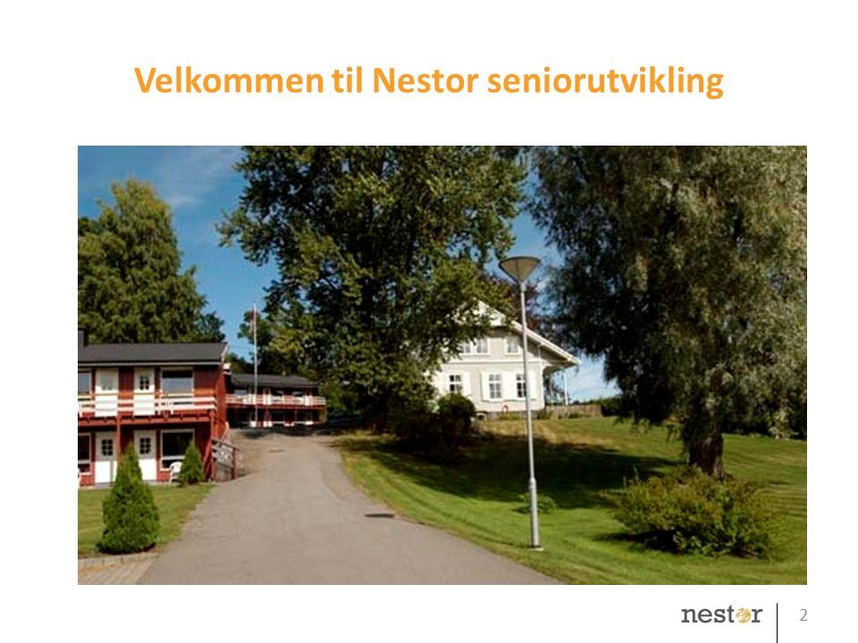 Velkommen til Nestor seniorutvikling 2