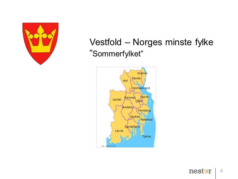 """4 Vestfold – Norges minste fylke """" Sommerfylket"""""""