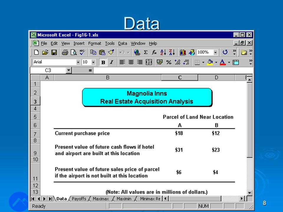 Normalisering og rangering  Normalisere en parvis sammenligningsmatrise: 1) Beregn summen i hver kolonne.