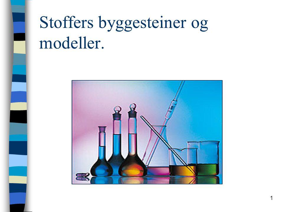 1 Stoffers byggesteiner og modeller.