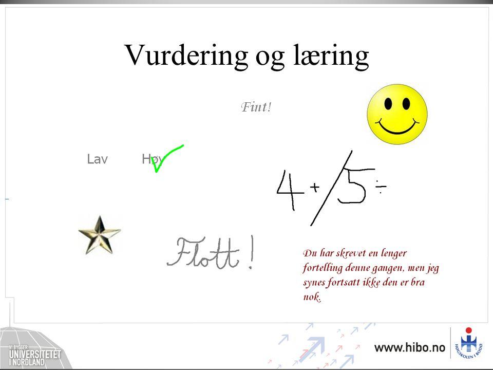 Vurdering og læring