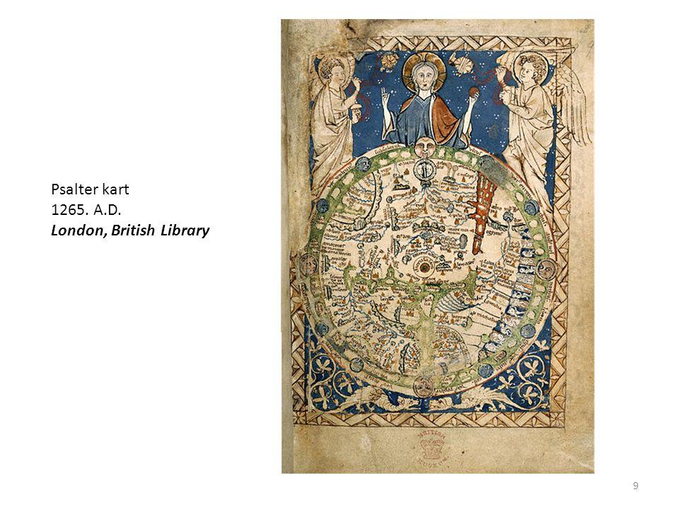Herreford-kartet 1300-talet. Hereford Cathedral I Hereford, England 10