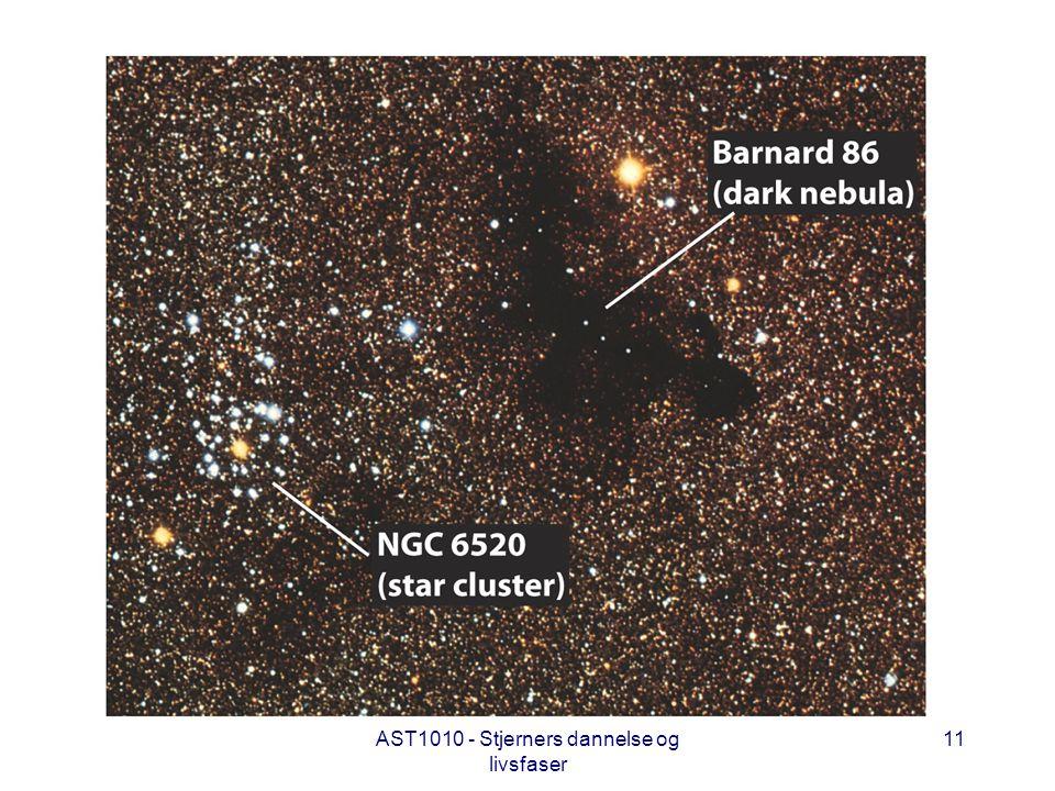 AST1010 - Stjerners dannelse og livsfaser 11