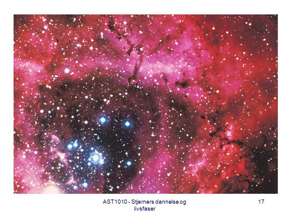 AST1010 - Stjerners dannelse og livsfaser 17