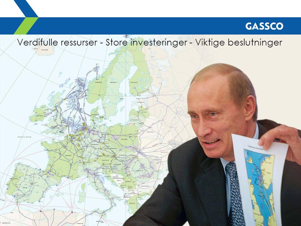 Verdifulle ressurser - Store investeringer - Viktige beslutninger