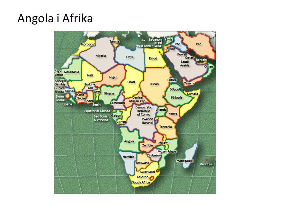 Angola i Afrika