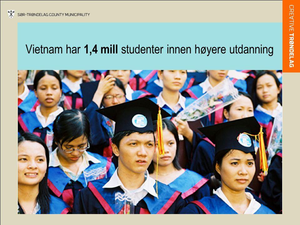 Vietnam har 1,4 mill studenter innen høyere utdanning