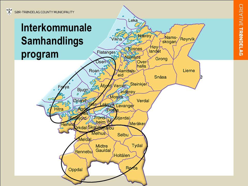 Interkommunale Samhandlings program 25 kommuner 270 000 innbyggere