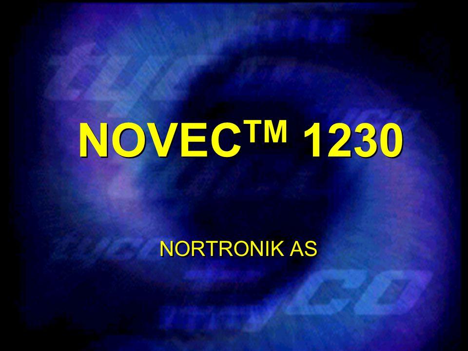 NOVEC TM 1230 NOVEC TM 1230 gir store muligheter fordi den har en unik kombinasjon av egenskaper for en kjemisk gass.