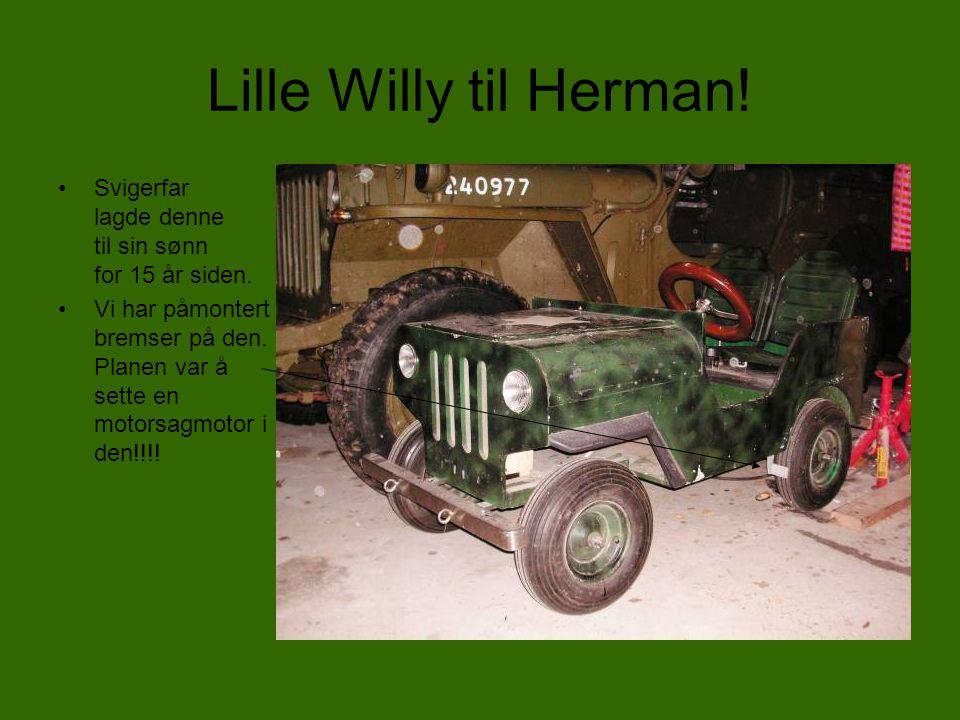 Kannibalisme •Willysene og GPWene ble utsatt for en utstrakt kannibalisme, hvor deler fra en Willys ble montert på en annen GPW uten omtanke på hvor de kom fra.