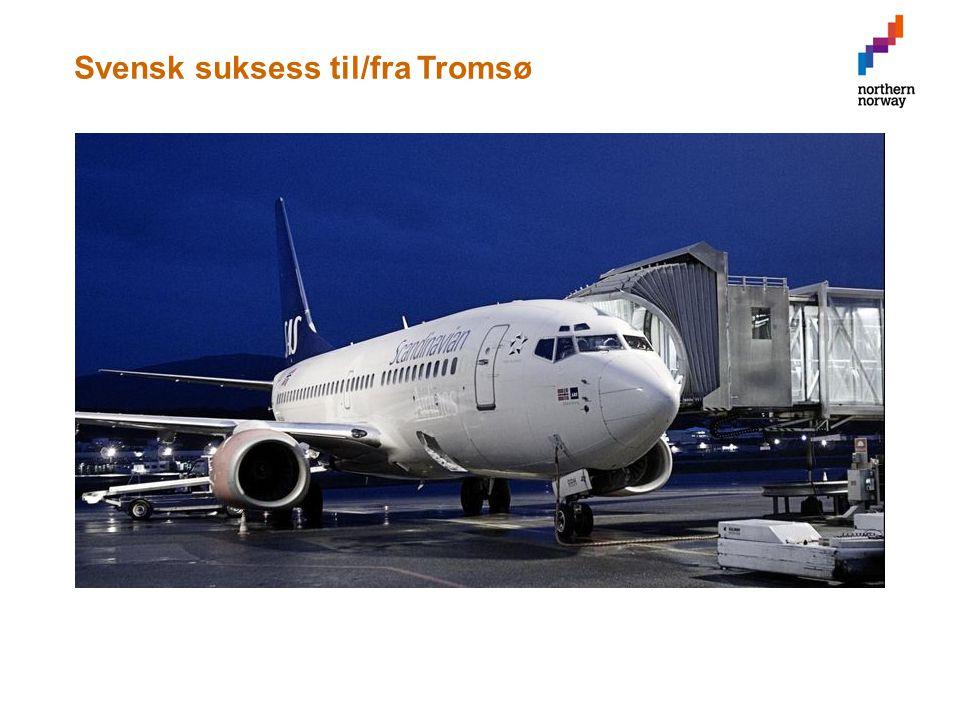 Svensk suksess til/fra Tromsø