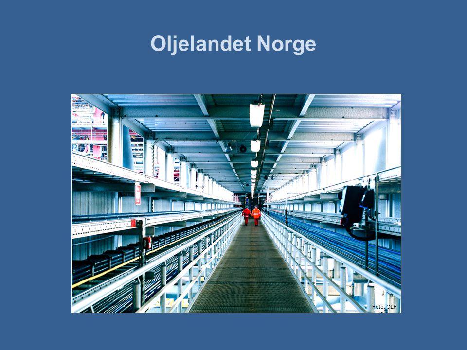 Oljelandet Norge Foto: OLF