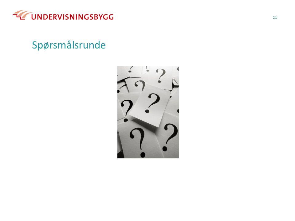 21 Spørsmålsrunde