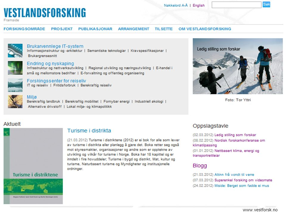 www.vestforsk.no
