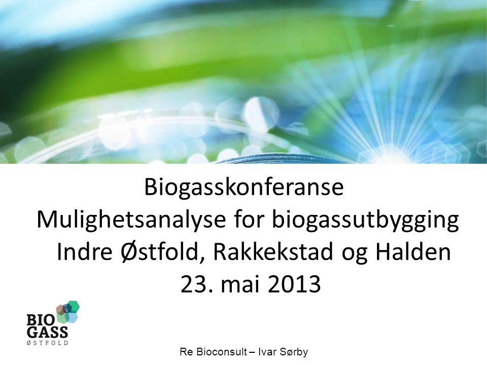 Biogasskonferanse Mulighetsanalyse for biogassutbygging Indre Østfold, Rakkekstad og Halden 23.