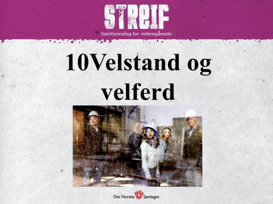 Norge – et rikt land BNP – bruttonasjonalproduktet  Samlet verdi av ferdige varer og tjenester som blir produsert i et land i løpet av et år.