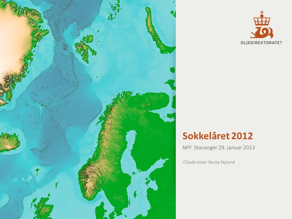 Sokkelåret 2012 NPF Stavanger 29. januar 2013 Oljedirektør Bente Nyland