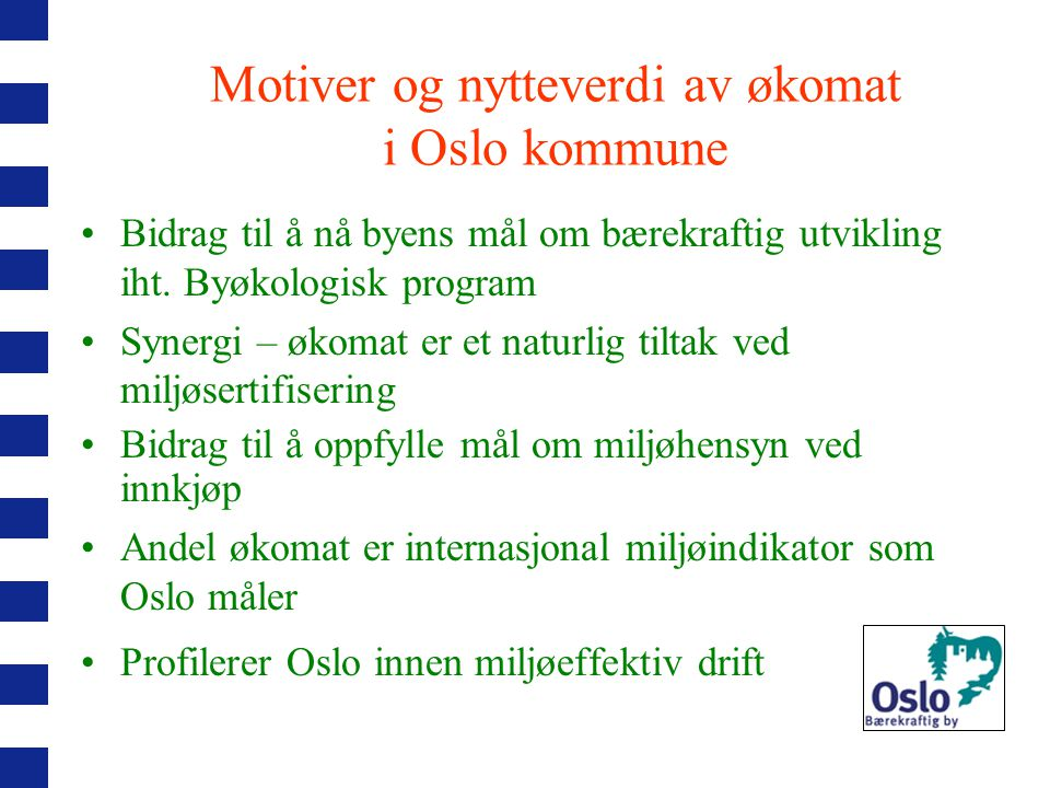 Hvilke Ø-varer omsettes i Norge.dagligvare/faghandel 1.halvår 2006 (tall fra A.C.