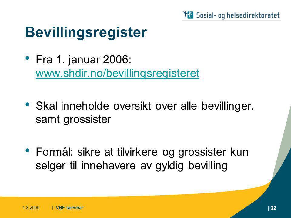 1.3.2006| VBF-seminar | 23 Reklameforbudet Ved siste revisjon: • Ingen realitetsendringer • Indirekte reklame • Presisering i forskriften • Høyesteretts uttalelse innarbeidet