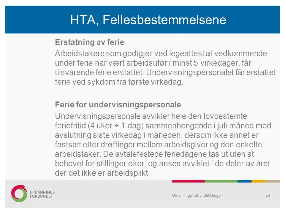 Lokal særavtale •Arbeidstøy -Det avtales eventuell ordning med arbeidstøy i hver byrådsavdeling/bystyrets organer.