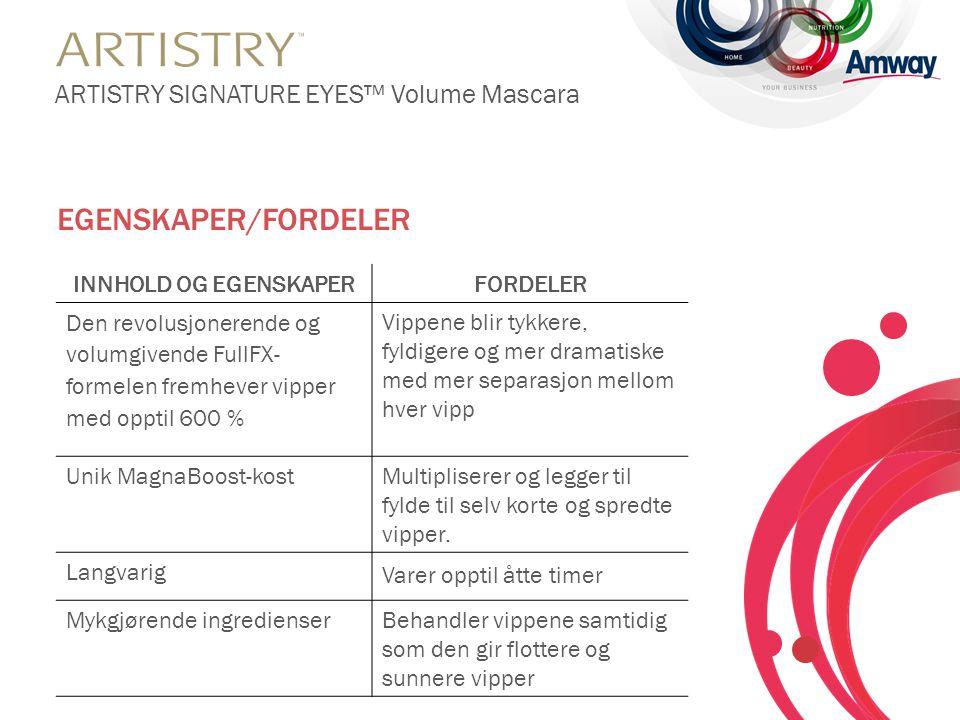 • Hold mascarakosten horisontalt og påfør oppover fra vipperoten til spissen.