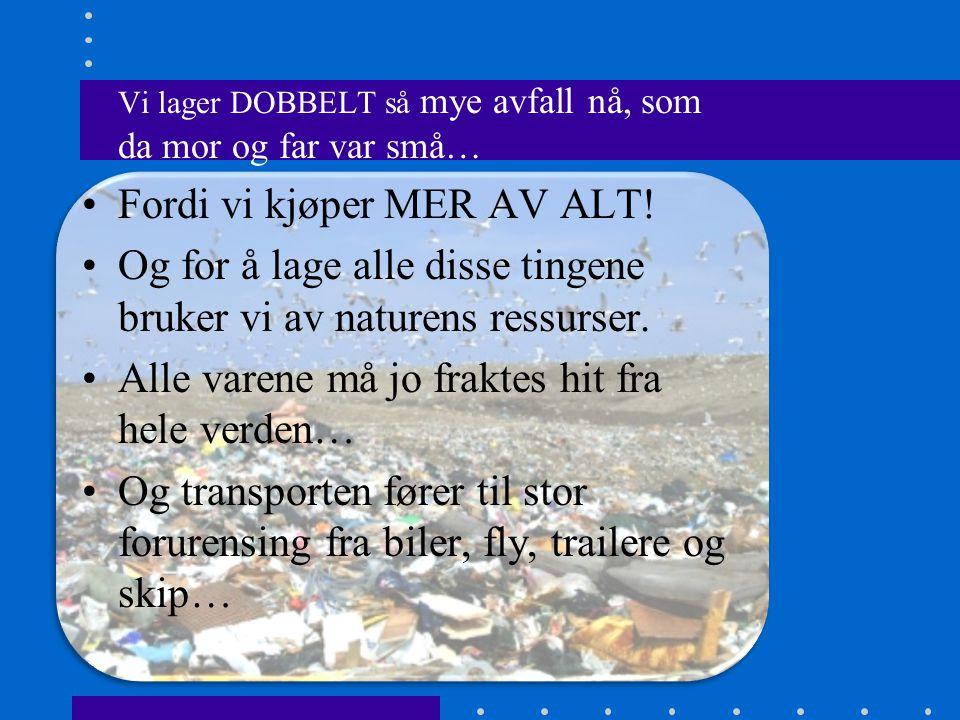 Vi øver oss på nettet.•Avfallsskolen Hjelp Hege, Helge og Viktor vaktmester med å rydde opp.