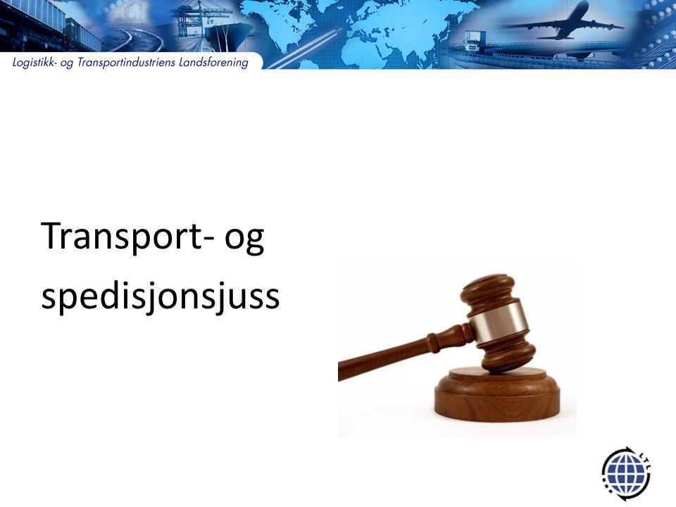 Transport- og spedisjonsjuss