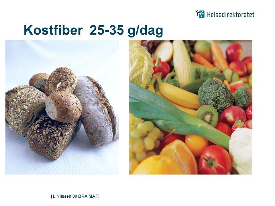 H. Nilssen 09 BRA MAT|| Kostfiber 25-35 g/dag
