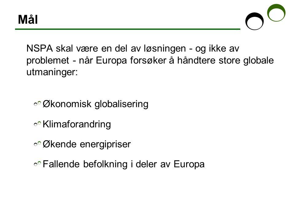 Den demografiske utmaningen: Ikke avfolkning, men intens polarisering Arbetsmarknadsregioner i NSPA med befolkningvekst: - Finland: 6 av 91 - Norge: 6 av 68 - Sverige: 3 av 30