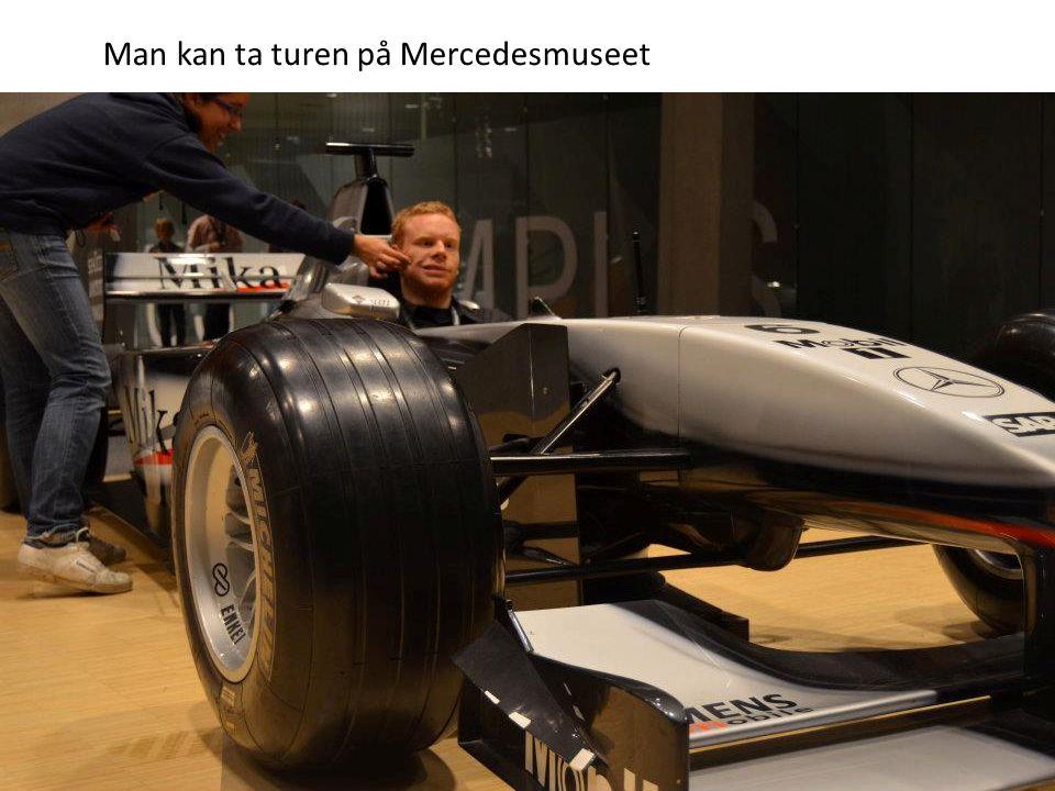 Man kan ta turen på Mercedesmuseet
