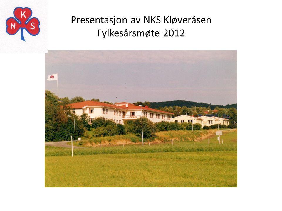 Kløveråsen takker alle lag og foreninger i NKS Nordland som bidra med pengegaver til Sansehagen i 2011 Takk for meg!