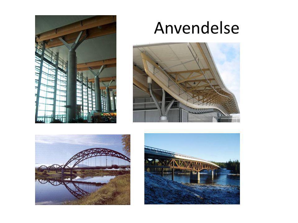 Hvorfor limtre Gode egenskaper som teller ved valg av bærende konstruksjon: - styrke - egenvekt - brannmotstand - miljø Limtre fra Moelven i Håkonshall, Lillehammer