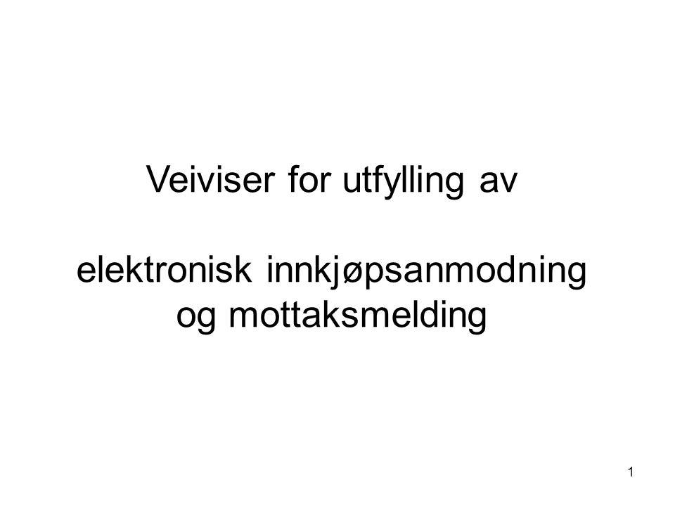 2 Klikk på Innkjøpsanmodning under overskriften Mine Lenker Klikk på Ny for å lage en innkjøpsanmodning I.