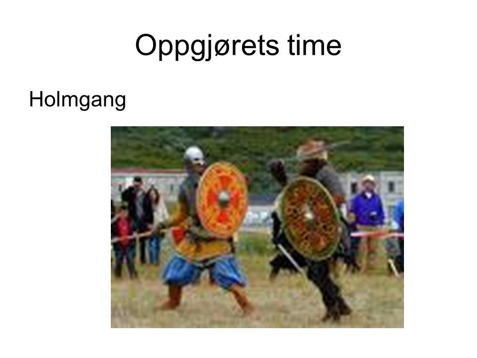 Oppgjørets time Holmgang