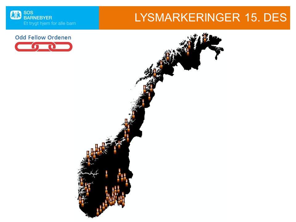 LYSMARKERINGER 15. DES Odd Fellow Ordenen