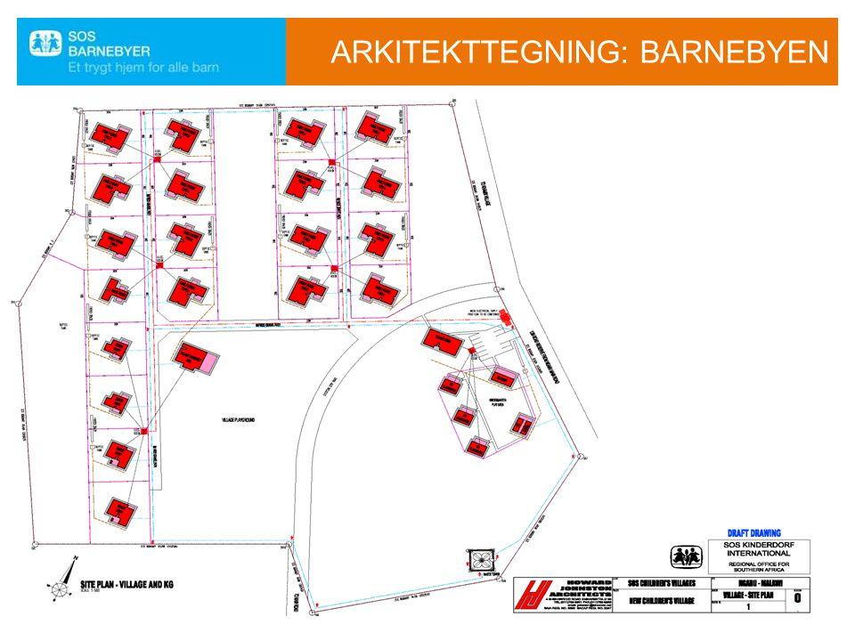 ARKITEKTTEGNING: BARNEBYEN i04\ao91