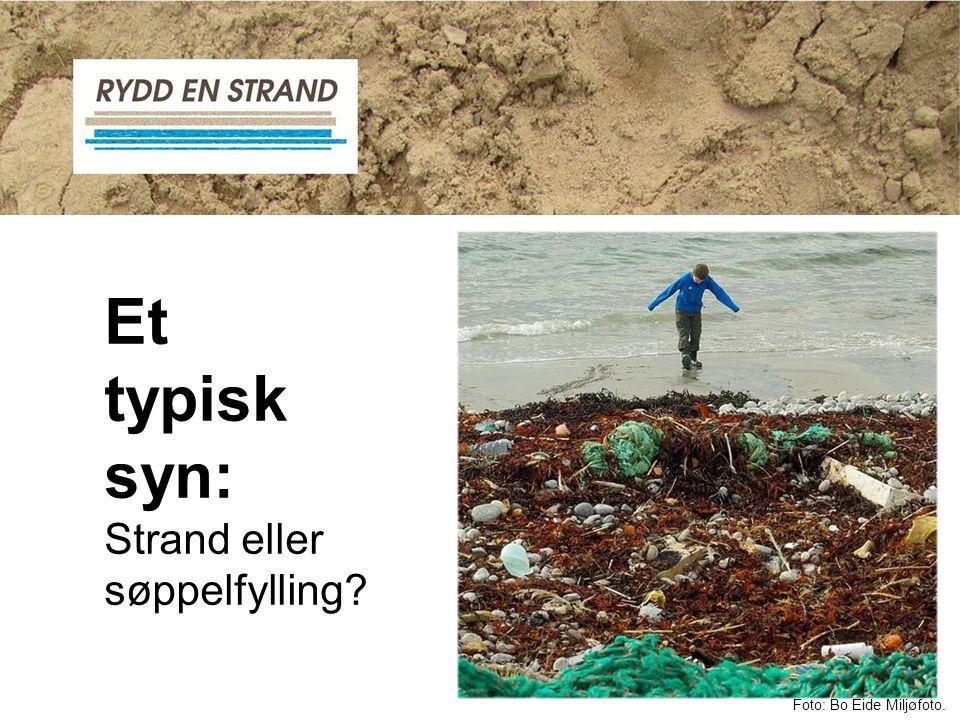 Et typisk syn: Strand eller søppelfylling? Foto: Bo Eide Miljøfoto.